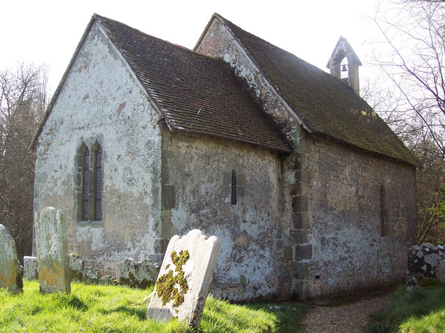 The 11th Century Church of St Marys, Chithurst