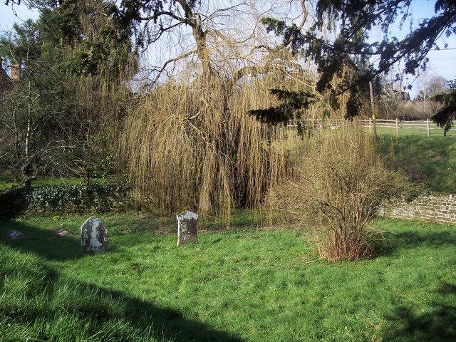 Churchyard at  St Marys Church, Chithurst