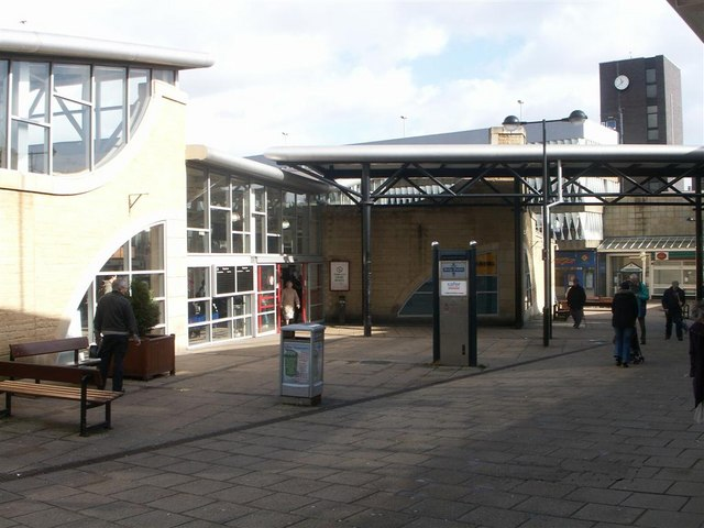 Bus Station Entrance