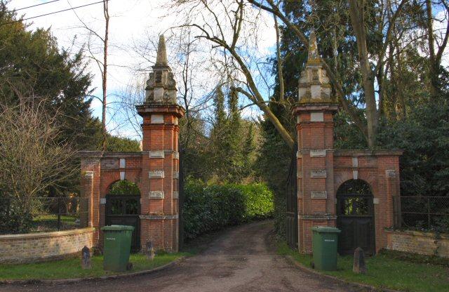 Entrance to Garboldisham Manor