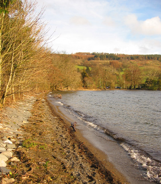 Northern head of Coniston Water