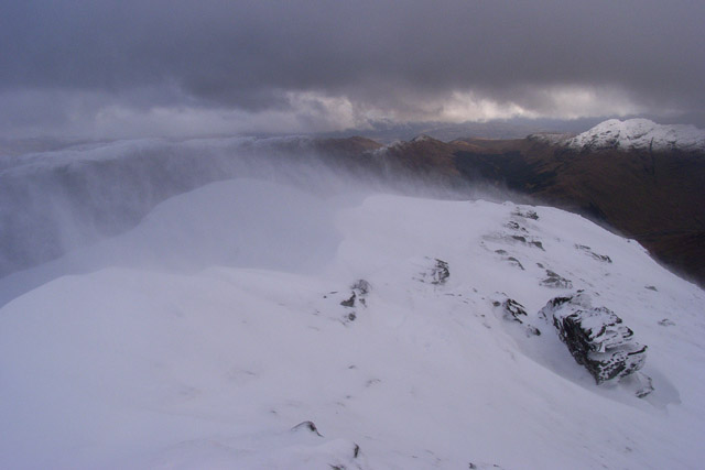 Ridge south of Stob Coire an Lochain