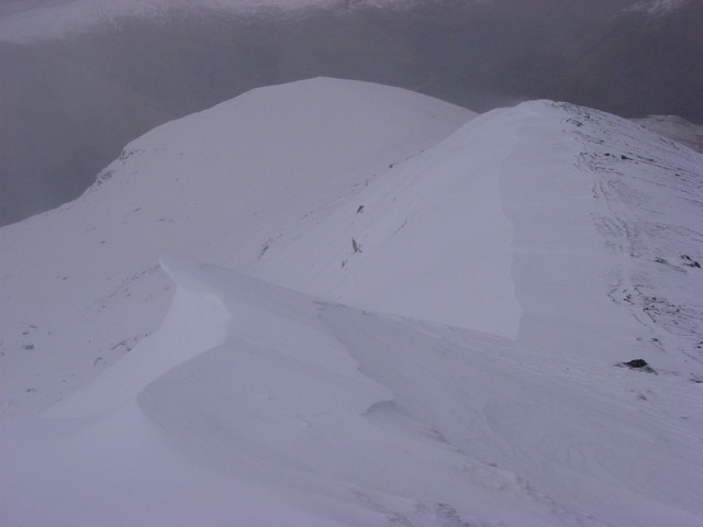 Ridge south of Stob Coire an Lochain