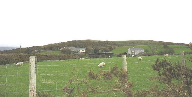 Bryn-derwin - the scene of a 1255 battle