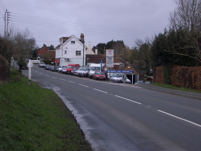 Windmill Hill Garage & Road Junction