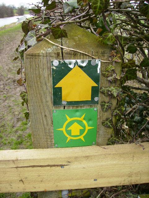 Ripon Rowel Waymarker