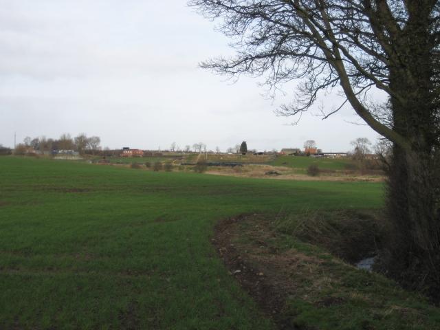 View towards Grafton Grange