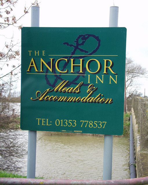 The Anchor Inn Sign