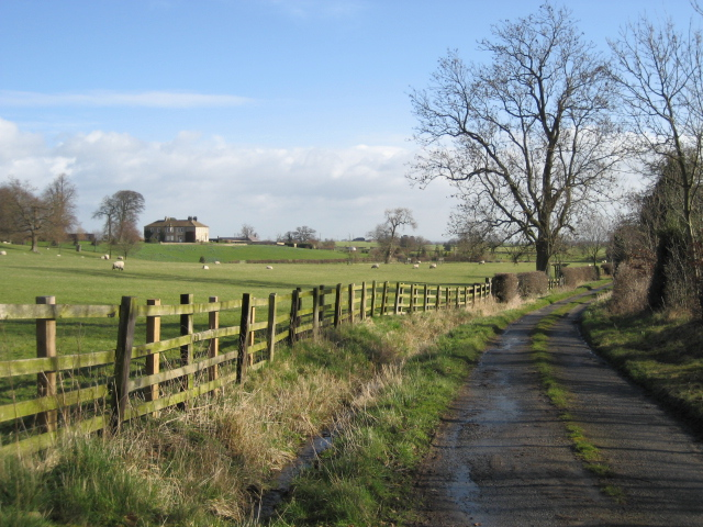 View towards Rudd Hall Farm