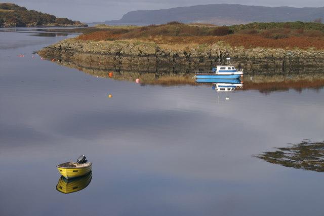 Ulva Ferry Inlet