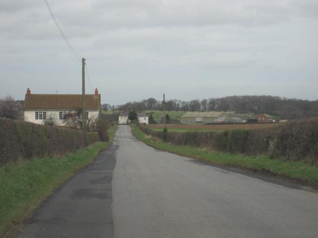 Approaching Kirkby Fleetham