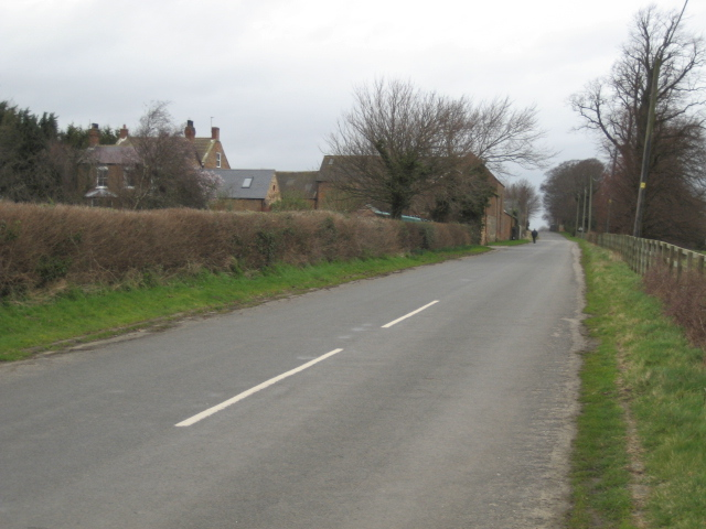 The former Great North Road