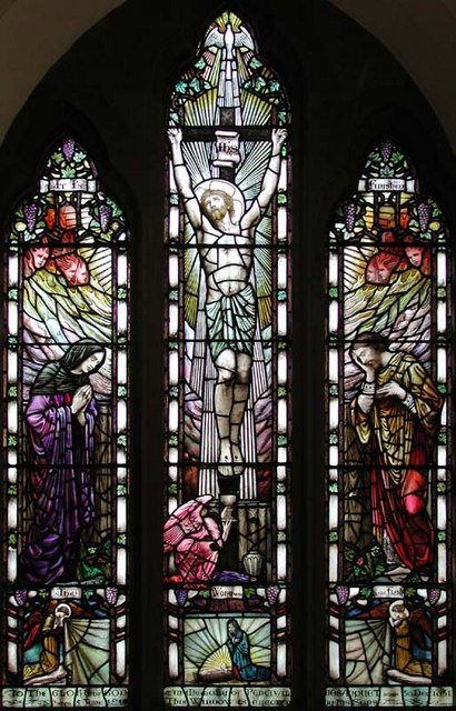 St Andrew, Little Berkhamsted, Herts - Window