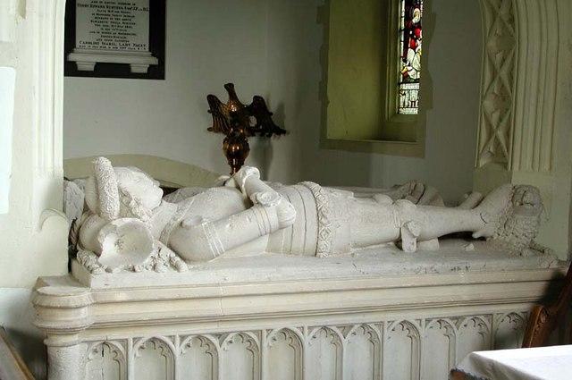 All Saints, Little Munden, Herts - Tomb chest