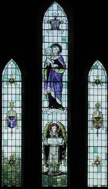 St Mary, Newgate Street, Herts - Window