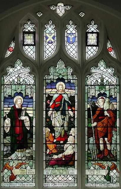 St Mary, Stapleford, Herts - Window
