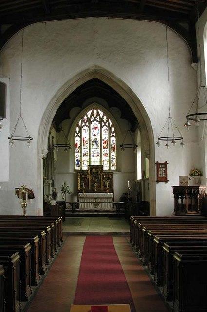 St Peter, Benington, Herts - East end