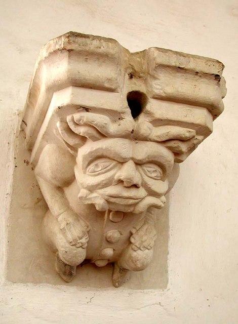 St Peter, Benington, Herts - Corbel