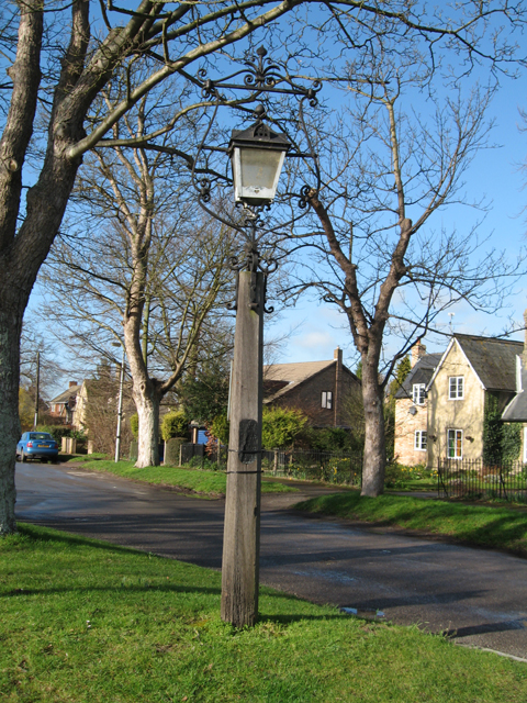 Village lamp from 1927, Newton, Cambs