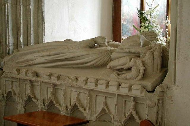 St Peter, Benington, Herts - Tomb chest