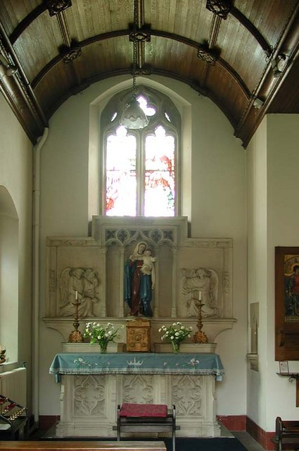St Richard of Chichester, Buntingford, Herts - Lady Chapel
