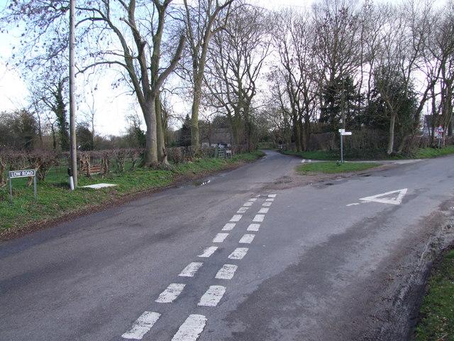 Low Road Junction, Tasburgh