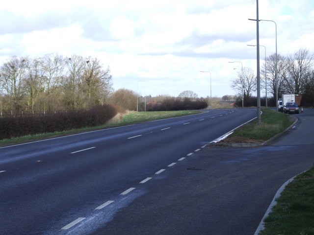 Lay-by on A140, Tasburgh