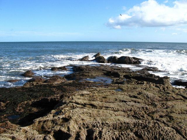 Rocks, south of Hilton Bay