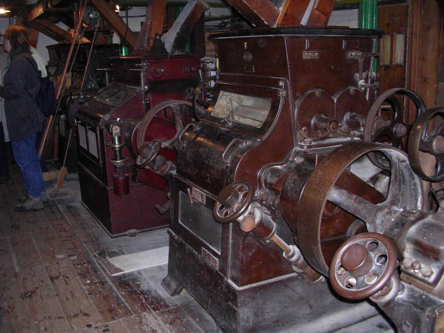 Caudwell's Mill - Rolling Machinery