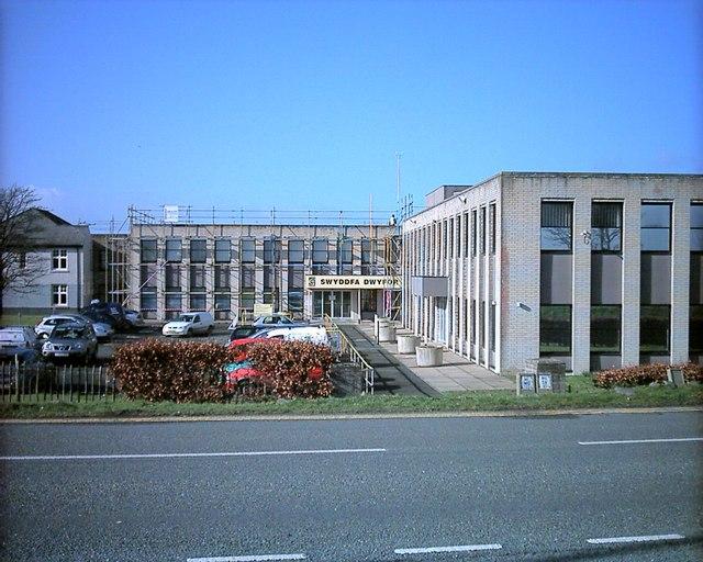 Swyddfa Dwyfor Council Offices Pwllheli