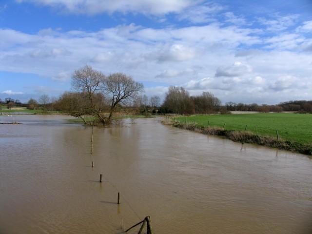 River Wreake in spate