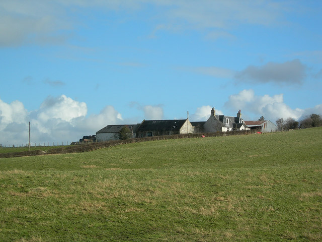 Barclaugh Farm in Winter