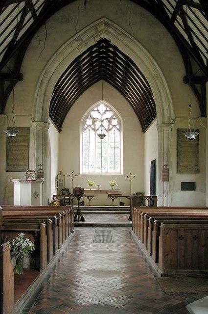 St Mary, Brent Pelham, Herts - East end