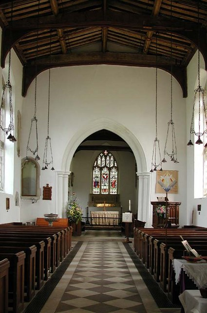 St John the Baptist, Cottered, Herts - East end