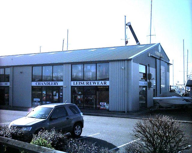 Boatyard Pwllheli