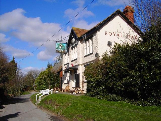 Royal Oak pub, Bishopstone, Swindon