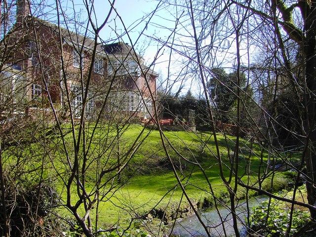 Large house overlooking stream, Bishopstone, Swindon