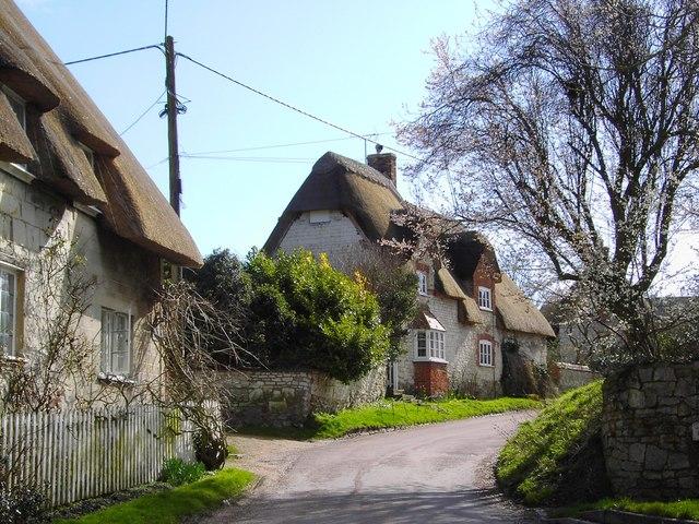 Cottages, the Wyncies, Bishopstone, Swindon
