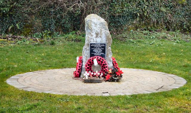 Memorial at Ewenny