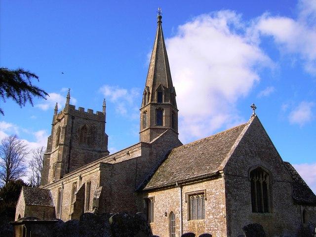 St Andrew's church, Upper Wanborough, Swindon