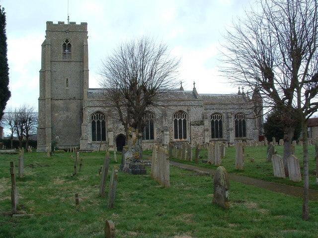 St.Peters Church Brandon Suffolk