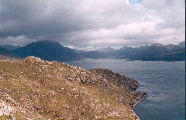 Rubh a Ghiubhais & Loch Torridon