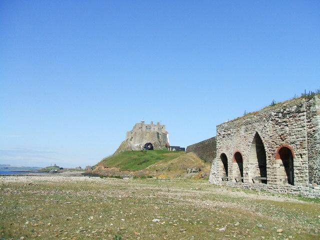 Lime Kilns below Lindisfarne Castle on Holy Island