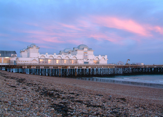 The pier at Southsea