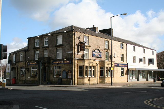 The Commercial Hotel, Colne, Lancashire