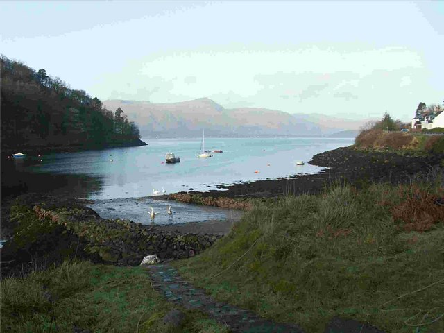 Ardgour and Loch Linnhe from Kentallen Bay