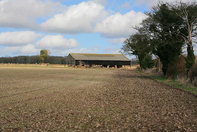 Barn on Wood Farm, nr Bramdean