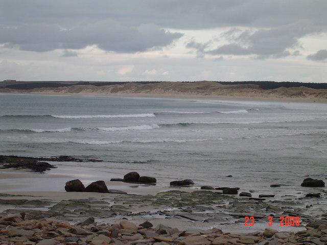 Dunnet Bay beach