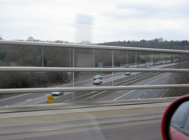 M25 at junction 16