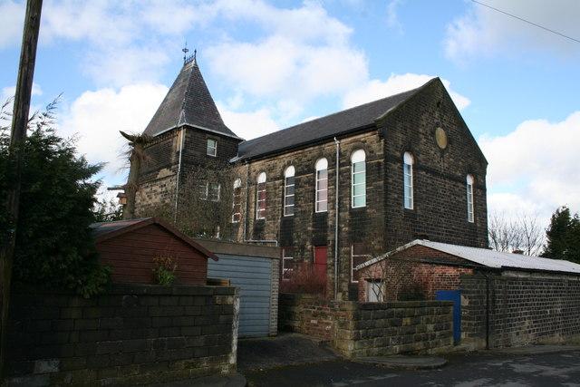 Holy Trinity Baptist Church, Colne, Lancashire